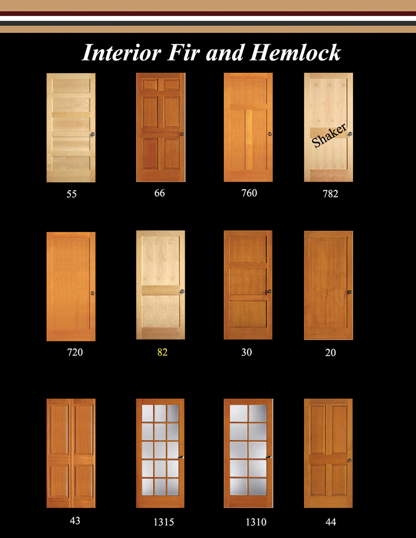 Cascade Door u0026 Trim can offer just the right door for your project in a variety of styles species and grades. Stain grade or paint grade we can supply what ...  sc 1 st  Cascade Door and Trim & Interior Doors